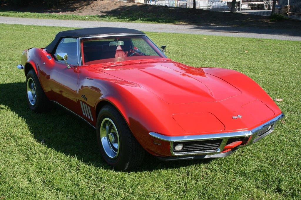 1969 corvette red stingray. Black Bedroom Furniture Sets. Home Design Ideas